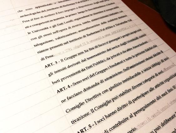 Adeguamento dello Statuto alla Riforma del Terzo Settore
